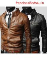 Best Leather Jacket For Men In India By Hugme Fashion